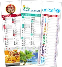 Calendario Italiano 2020 Con Festivita.Stampa Calendari E Agende Online 2020 Personalizzati Agm