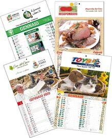 Calendario Trimestrali 2020.Stampa Calendari E Agende Online 2020 Personalizzati Agm