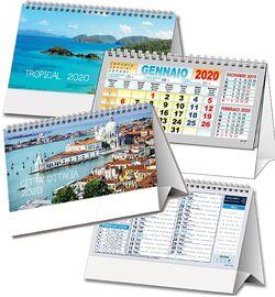 Calendario 2020 Da Stampare Semestrale.Stampa Calendari E Agende Online 2020 Personalizzati Agm