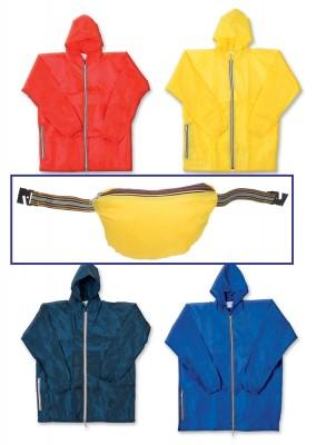 Giacca Pioggia con cappuccio - 930