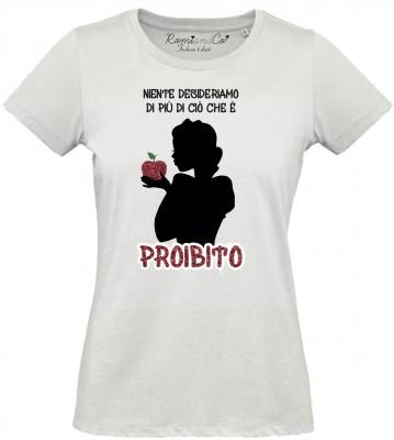 T-shirt Biancaneve Proibito