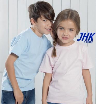 T-shirt JHK Kid Manica Corta