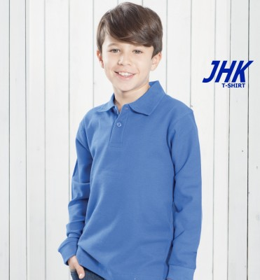 Polo JHK Manica Lunga Kid