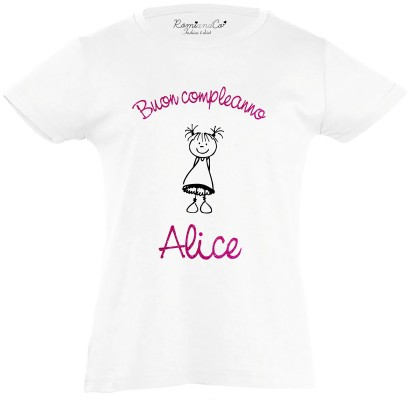 T-shirt Buon Compleanno