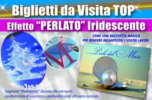 Biglietti da Visita Perla UV - 005