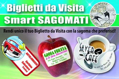 Biglietti da Visita Smart UV Sagomato - 015