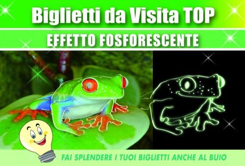 Biglietti da Visita Fosforescente - 007