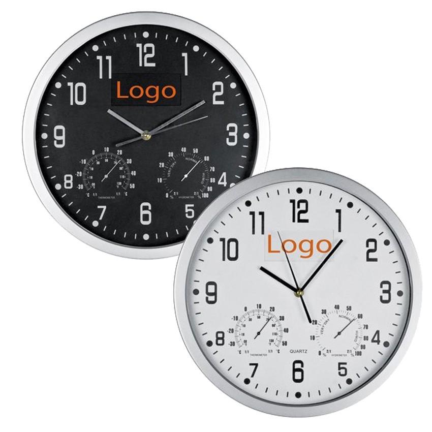 Orologi da parete personalizzabili con logo da 19 00 - Orologi componibili da parete ...