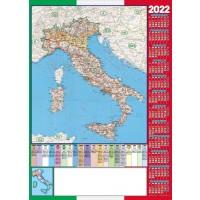 Calendario Poster 2022 Cartina Italia