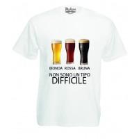 T-shirt Stampa Non sono un tipo Difficile