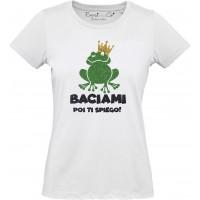 T-shirt Baciami poi ti spiego