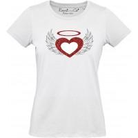 T-shirt Cuore Alato