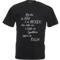 T-shirt Stampa Vasco Poesia